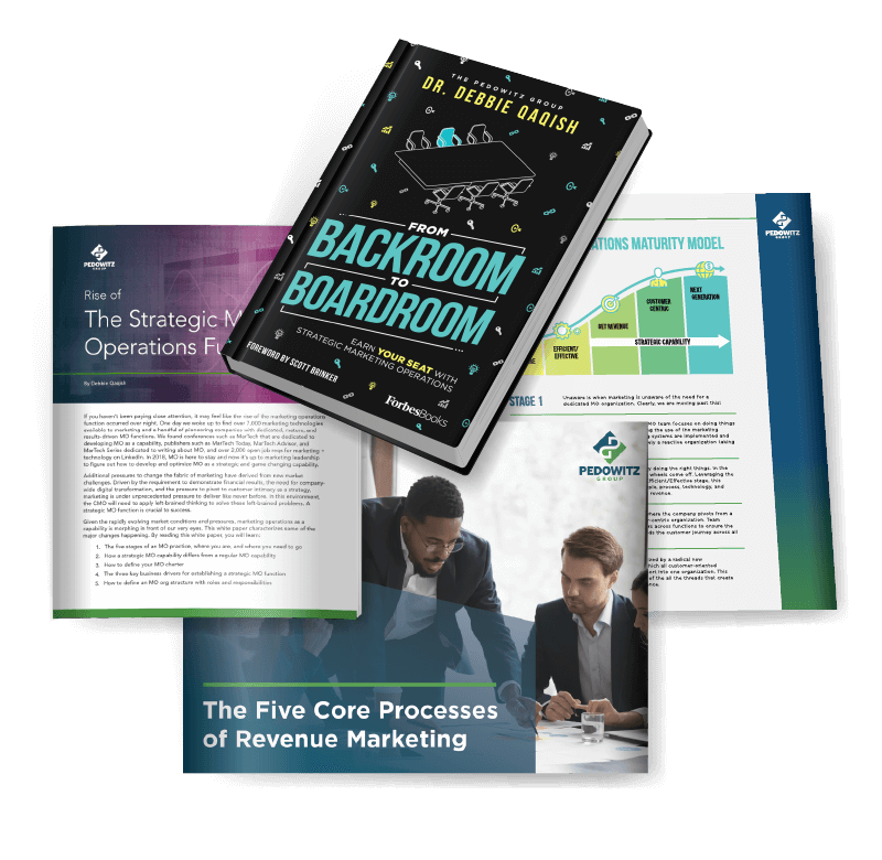Grab the marketing operations bundle and dive into a plan for greater revenue!